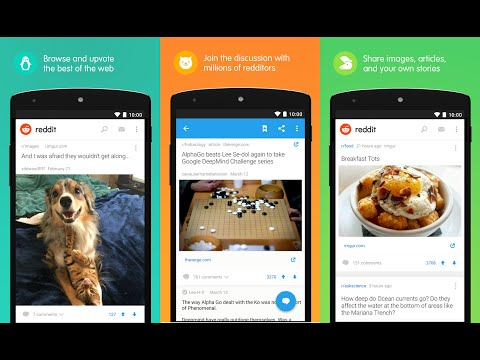 Quick Preview : Reddit Official Application For Android