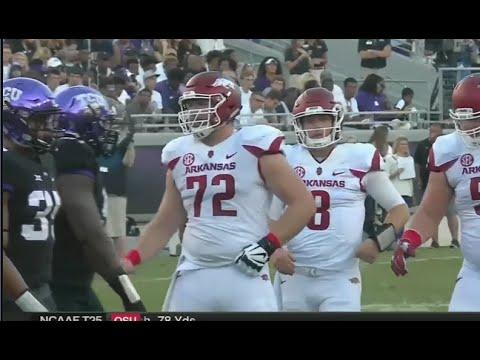 Arkansas vs TCU football 2016 MUST SEE