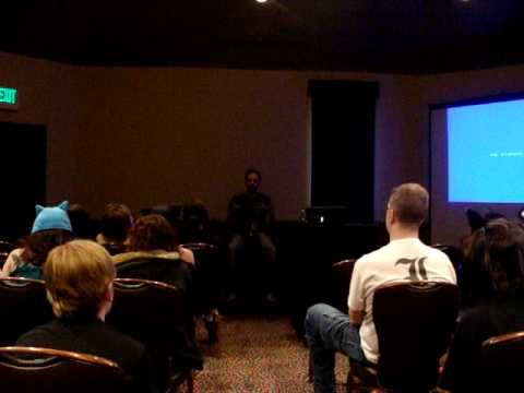 Colossalcon 09 Death Note Q&A with Brad Swaile Part 1