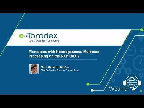 Amazon FreeRTOS, heterogeneous cores - iMX8 System on Modules