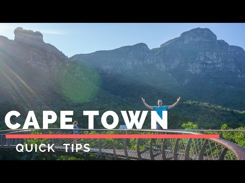 Tips for Cape Town, South Africa