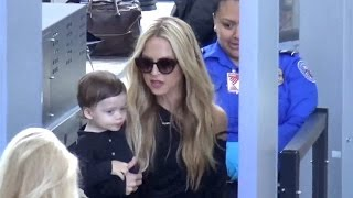 Rachel Zoe Is Stopped By TSA With Son Kaius In Her Arms