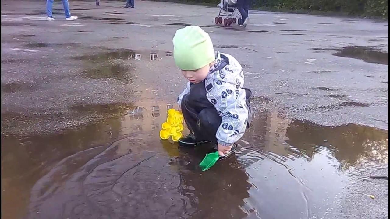 Штаны комбинезон непромокаемые детские с Алиэкспресс. - YouTube
