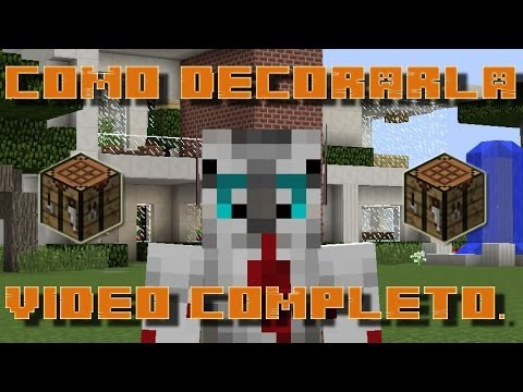 Como decorar tu casa en minecraft casa numero 4 youtube for Como de corar una casa