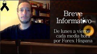 Breve Informativo - Noticias Forex del 27 de Septiembre 2018