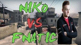 CSGO: POV mouz NiKo vs fnatic (42/28) dust2 @ IEM Katowice 2016