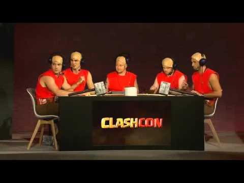 Clashcon friendly clan war (Clash Team vs. Mild Aggression)