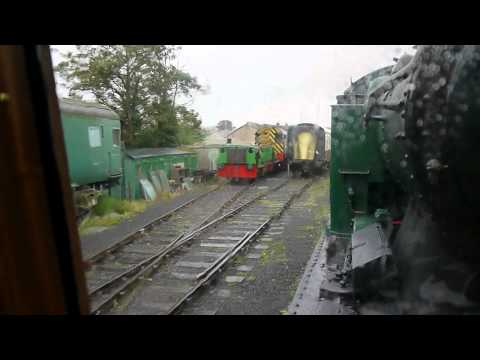 A Ride in Pullman Observation Carriage - Car 14 - Swanage Preserved Railway August 2012