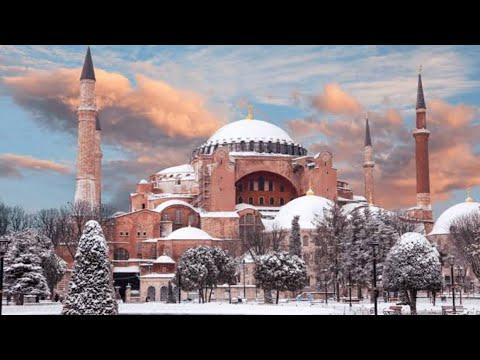 Istanbul, Turkey 🇹🇷 / F irst Snowfall ⛄️/ Beautiful 🤩