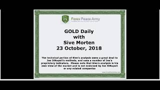 Forex Peace Army | Sive Morten Gold Daily 10.23.18