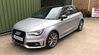 Audi A1 1.6 TDI S line Style Edition sales demonstration