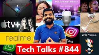 Tech Talks #844 - India Vs Pak, SD865, Realme 4, Whatsapp, Red Magic 3, Apple Movies, Instagram Hack