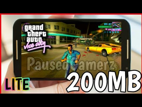 🔥[200 MB] How to download and install GTA Vice City || Apk+Data - 100% Working 🔥