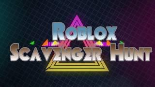 Roblox- Scavenger Hunt