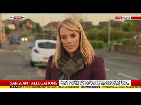 Carl Sargeant family reveal 'groping' claims - Rebecca Williams reports
