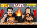 BROTHER VS SISTER EXTREME SPICY PASTA EATING CHALLENGE Food Challenge India Ep 82 mp3