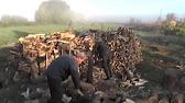 Как колоть дрова по-канадски - YouTube