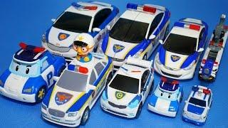 경찰차 장난감 또봇 헬로카봇 로보카폴리 뽀로로 꼬마버스타요 파워레인저 tayo little the bus robocar poli s police car toys