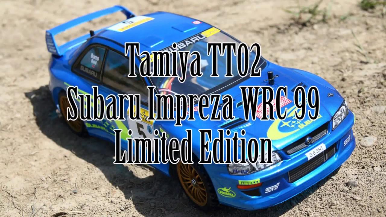 New Subaru Xv >> Tamiya TT02 - Subaru Impreza WRC99 - Limited Edition: maiden run - Gitup Git2 - YouTube