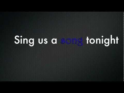 Colton Dixon -Piano Man lyrics