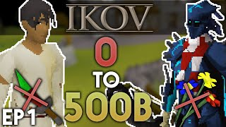 0 to 500B without Staking on Ikov RSPS - Episode #1