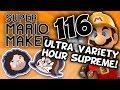 Super Mario Maker: Magic Treasures of the Sea - PART 116 - Game Grumps