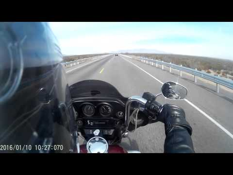 Ride From El Paso to Barnett HD Las Cruces (2000 HD Electra Glide) on 10 Jan 2016