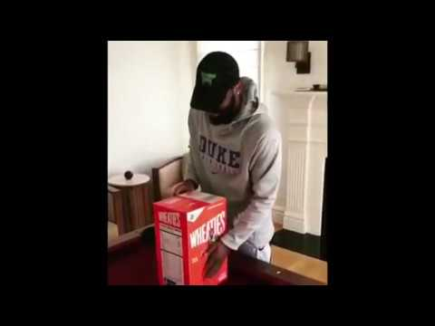 11e34b83b4c7 Kyrie Irving And Uncle Drew On Wheaties box   Introduces New Kyrie Kyrie  Irving 4s