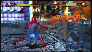 JOJO BATTLE Plays Avengers BFE (Spider-man Wolverine) Arcade Ladder