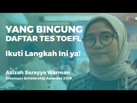 Azizah Surayya W: Inilah Cara dan Prosedur Tes TOEFL iBT from YouTube · Duration:  4 minutes 21 seconds