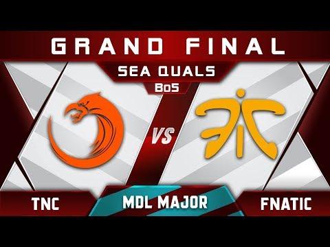 TNC vs Fnatic [EPIC] Grand Final MDL Major 2018 Changsha SEA Highlights Dota 2