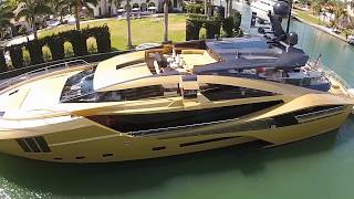 Palmer Johnson 48m Superyacht (Drone Flyby)