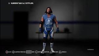 AJ STYLES TLC 2017 Kıyafetleri Nasıl 2K18 WWE: