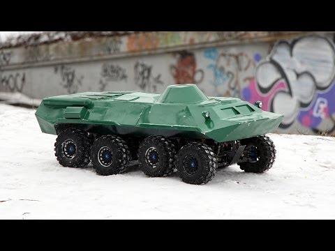 BTR-80 8x8 Winter (Зимние покатушки)
