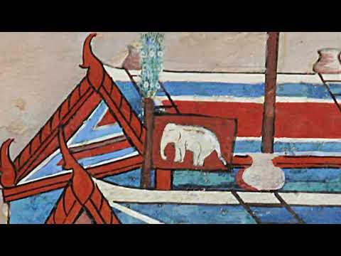 ๑ นาที ไขปริศนาทำไมธงช้างเผือกจึงอยู่บนภาพจิตรกรรมฝาผนังวัดพระแก้ว?
