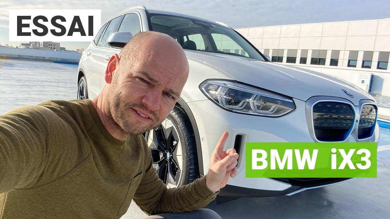Essai BMW iX3 : un SUV électrique pour concurrencer le Tesla Model Y