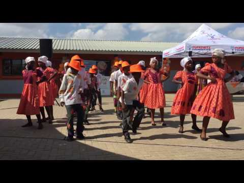 NPG Damara Cultural Dance Namibia (Olof Palme Primary School Inauguration)