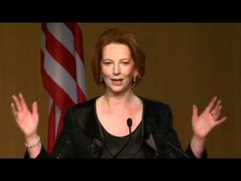 Obama slips in some Aussie slang at state dinner (2011) | ABC News