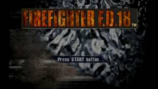 Firefighter F.D. 18 PS2 - Intro