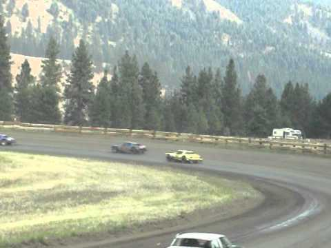 Eagle Track Raceway Street Stock Main Event Part 1 Aug 9th 2014