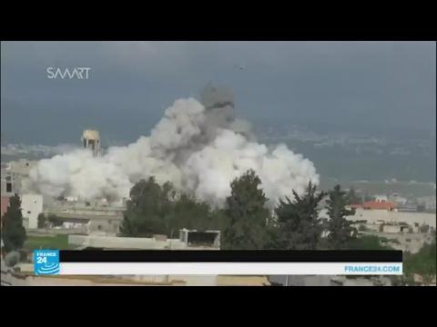 سوريا الديمقراطية تدخل مدينة الطبقة والنظام يكثف قصفه على خان شيخون  - نشر قبل 13 ساعة