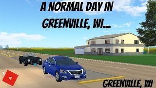 Greenville: [EP. 55] A Normal Day In Greenville, WI.. [Roblox]