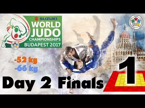 Suzuki World Judo Championships 2017: Day 2 - Final Block