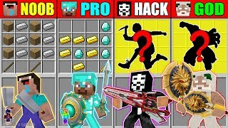 🦄 Minecraft NOOB vs PRO vs HACKER vs GOD ABILITY WEAPONS CRAFTING SONIC EXE CHALLENGE Animation