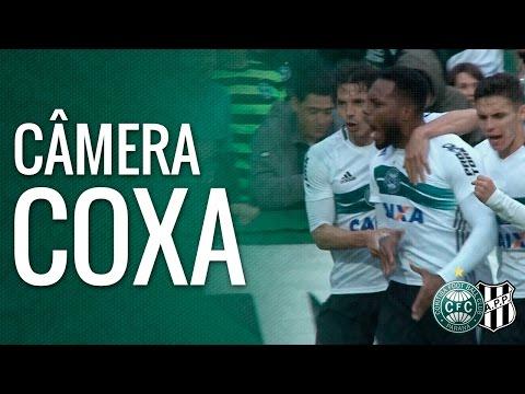 Câmera Coxa - Coritiba 3 x 1 Ponte Preta