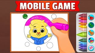 Coloring Games: Coloring Book, Painting, Glow Draw By RV AppStudios [English] screenshot 5