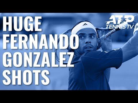Fernando Gonzalez Huge Shots!