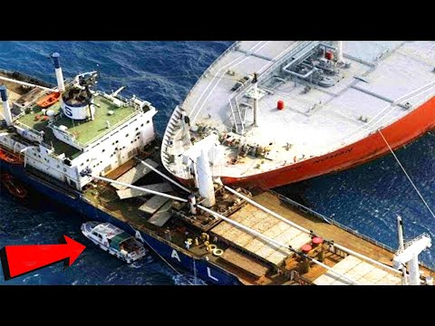 TOP 10 Big Ships Crashing Compilation 2020 ! Worst Dangerous Ships Collision