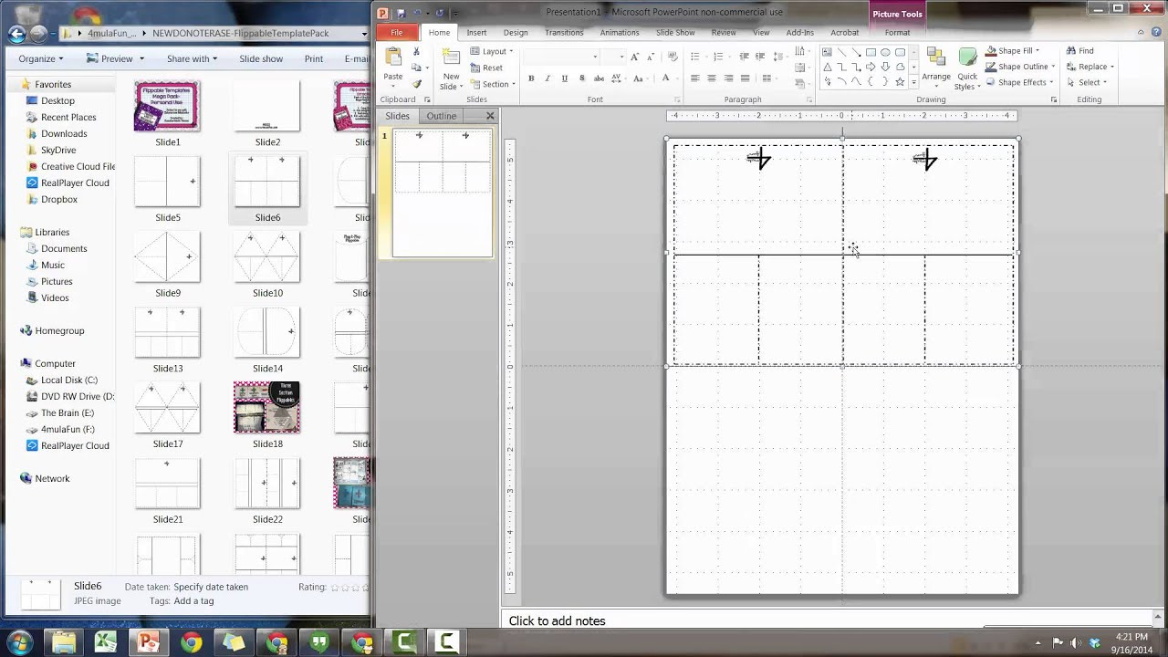 Tutorial: Using the Flippable Template Pack by 4mulaFun - YouTube