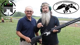 Skeet shooting with Duck Commander and Jerry Miculek in Slow-Mo! thumbnail